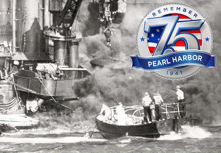 75th Pearl Harbor Commemorative Edition Newspaper