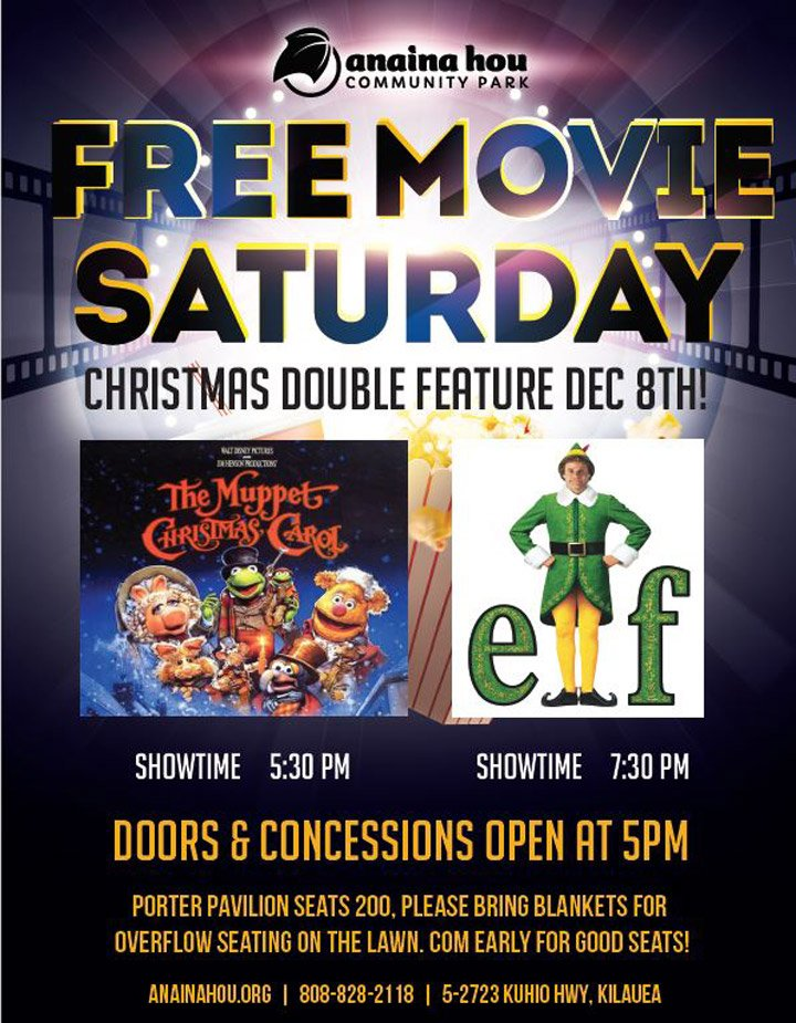 Christmas In Hawaii Movie.Free Holiday Movie Double Feature Hawaii Com